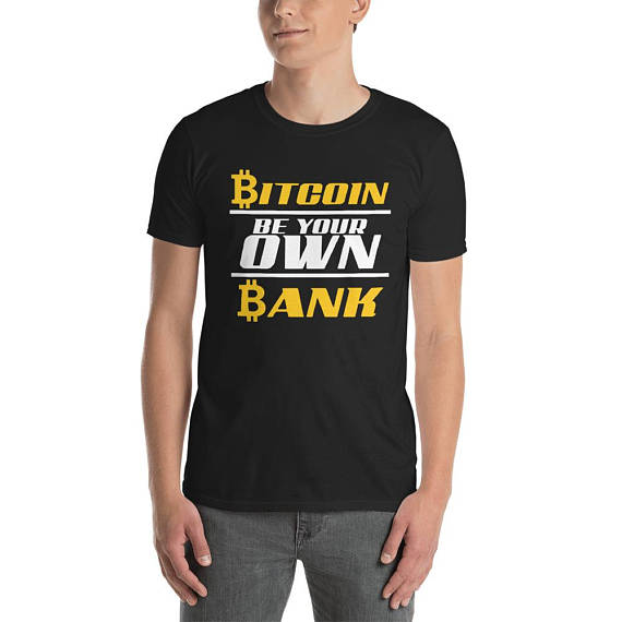 Bitcoin enthusiast - Bitcoin lovers tee - funny Bitcoin tee