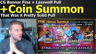 Ffbe Final Fantasy Brave Exvius Cg Banner Fina Lasswell Pull